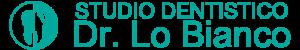 Logo studio dentistico lo bianco