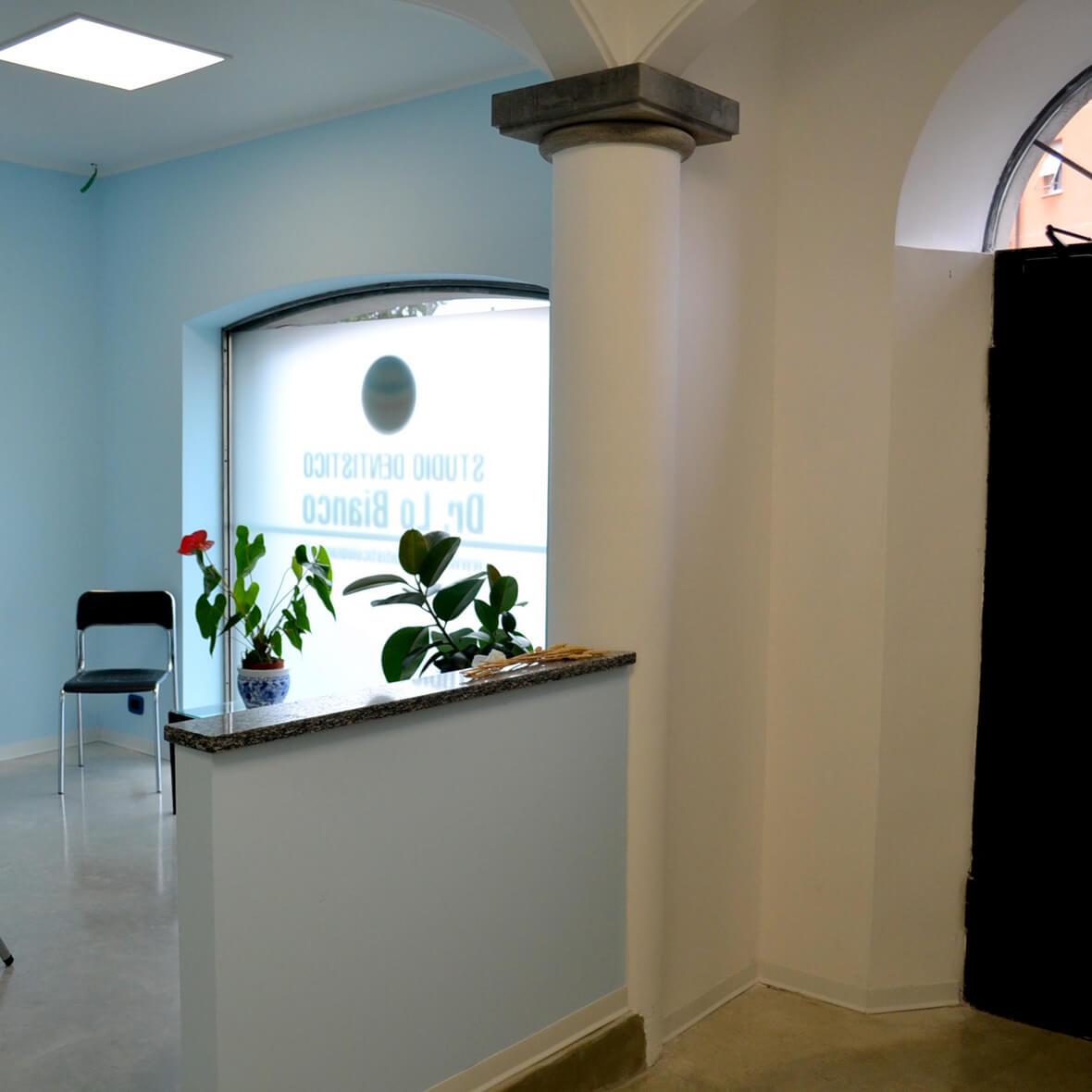 Sala d'attesa Studio Dentistico Lo Bianco