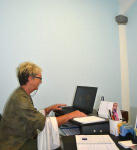 segretaria studio dentistico lo bianco